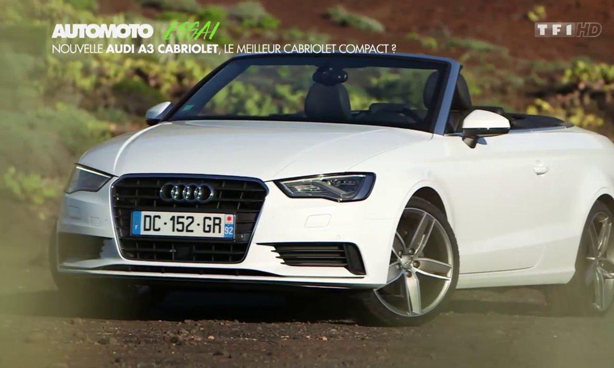Essai Vidéo : Audi A3 cabriolet, le meilleur cabriolet compact premium ?