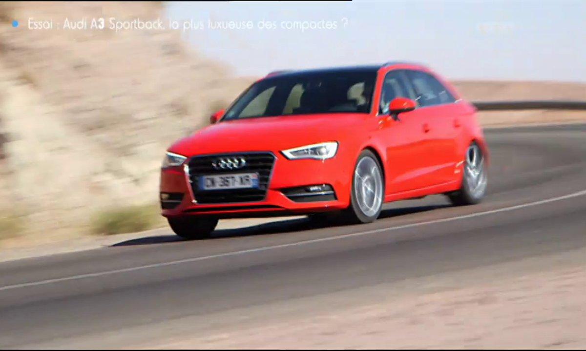 Essai Vidéo : Nouvelle Audi A3 Sportback 2013