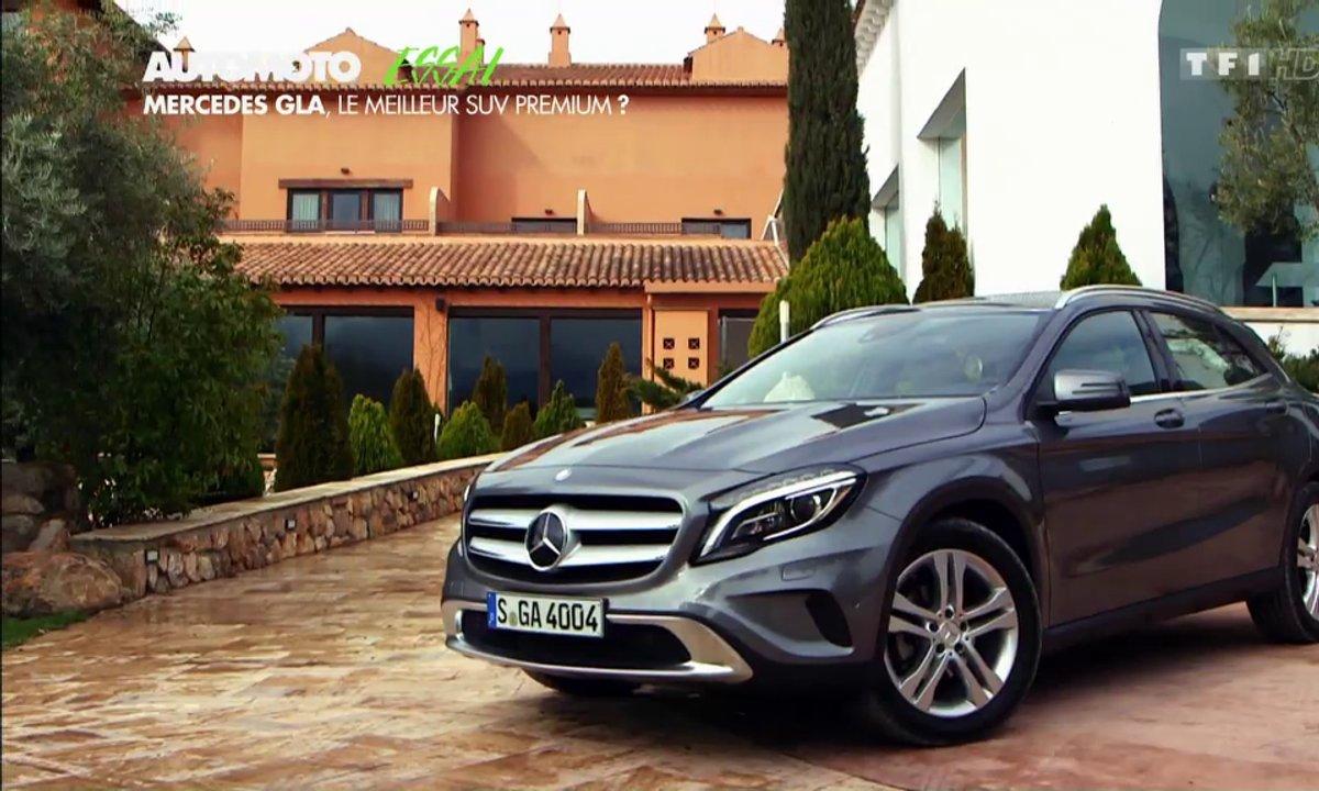 Essai Vidéo : le Mercedes-Benz GLA 2014