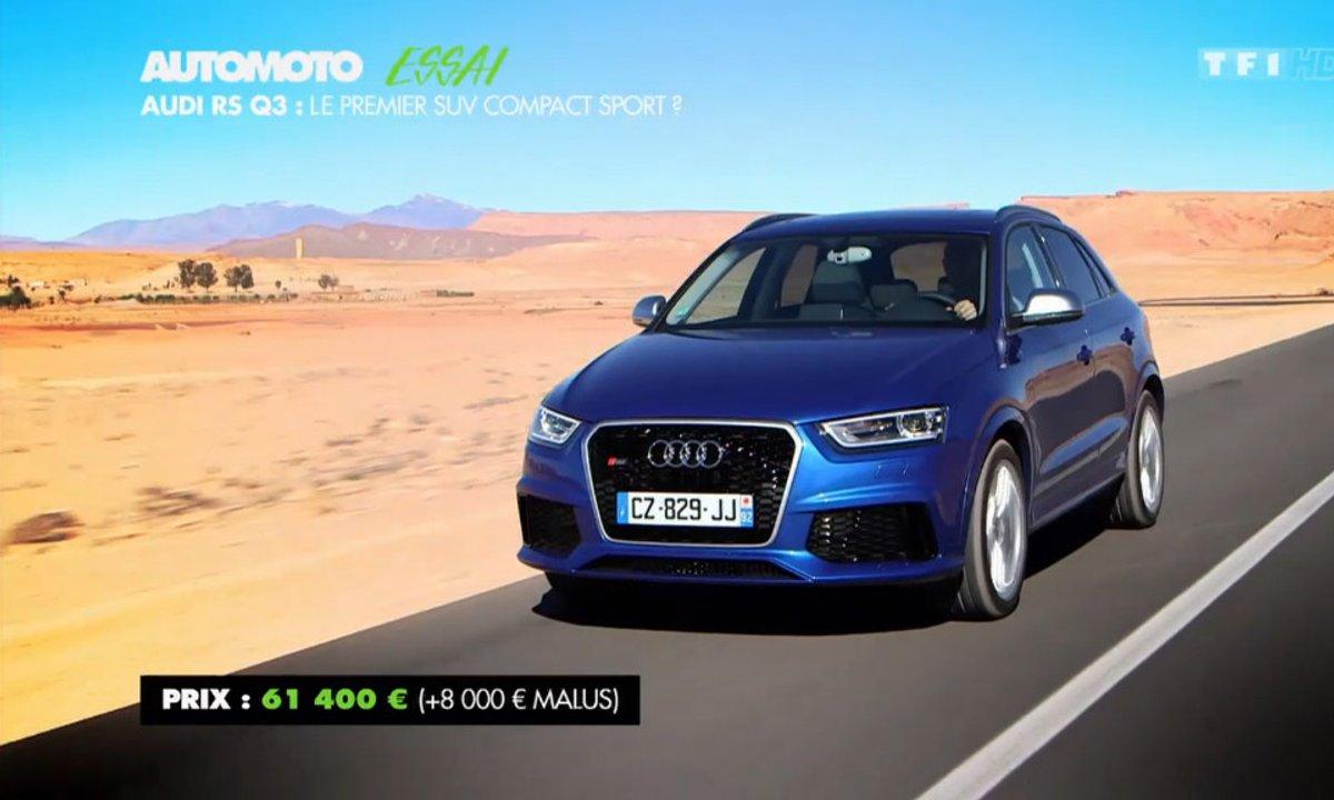Essai : Audi RS Q3, le premier SUV compact sport ?