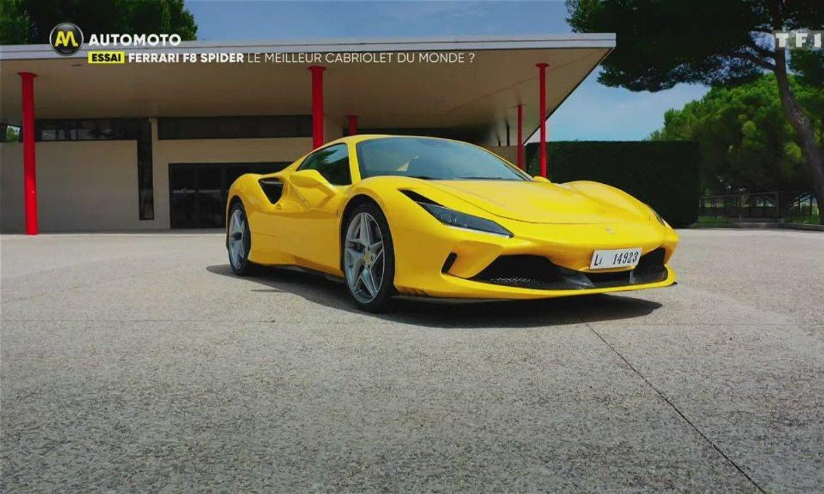 Essai Ferrari F8 Spider : le meilleur cabriolet du monde ?