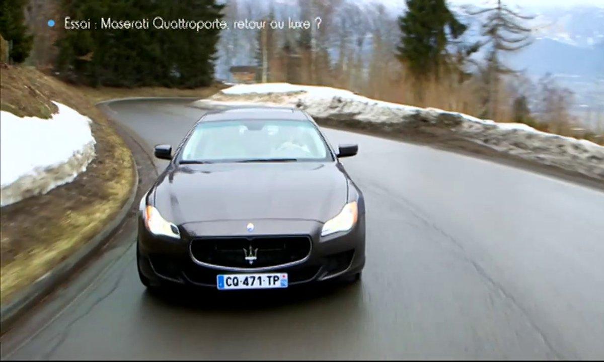 Essai Vidéo : Maserati Quattroporte 2013, enfin le réveil du luxe à l'italienne ?
