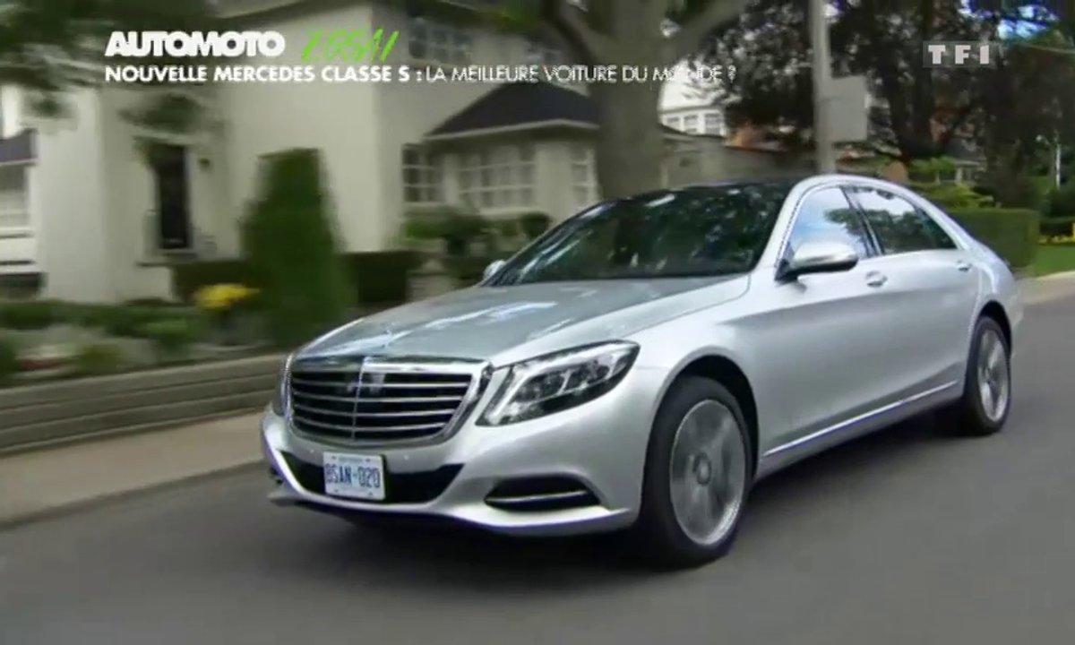Essai Vidéo : la nouvelle  Mercedes Classe S 2013