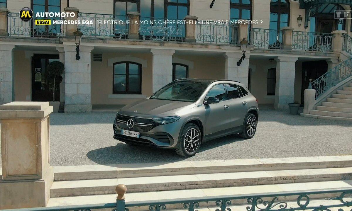 Mercedes EQA : l'électrique la moins chère est-elle une vraie Mercedes ?