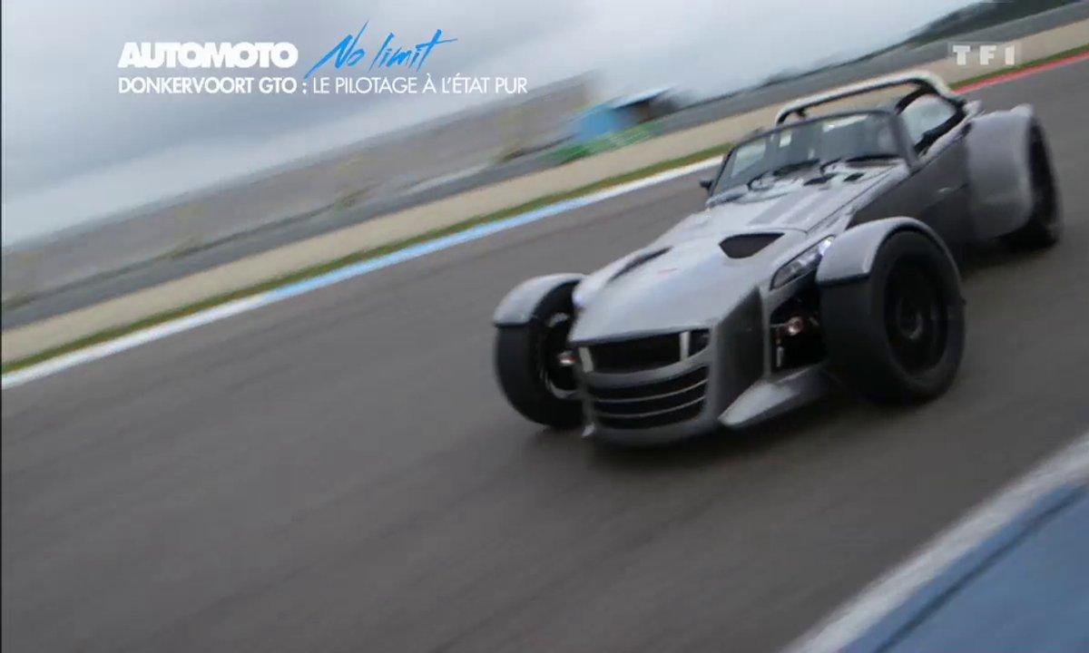 No Limit : Donkervoort D8 GTO, le plaisir de conduire