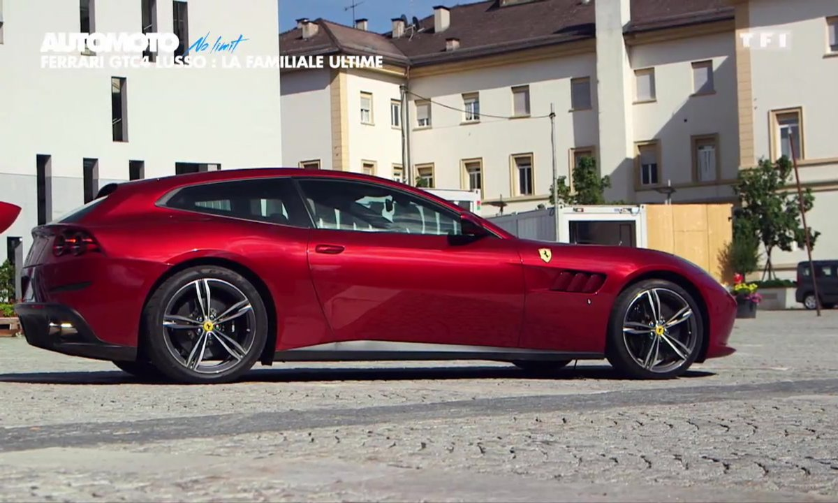 No limit : Ferrari GTC4Lusso, la familiale sportive ultime ?