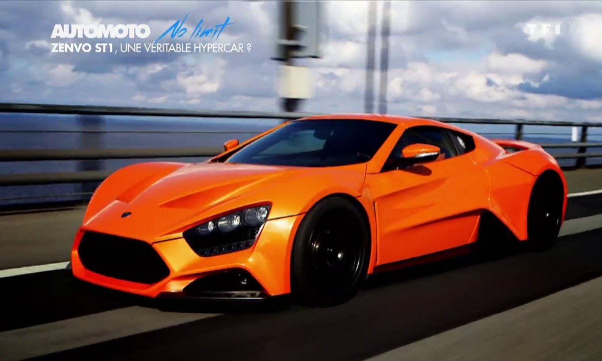 No Limit : Zenvo ST1, l'hypercar danois de 1.104 chevaux