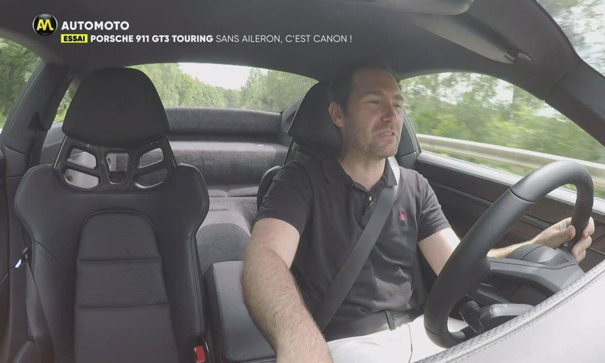 Essai - Porsche 911 GT3 Touring : sans aileron mais encore plus canon