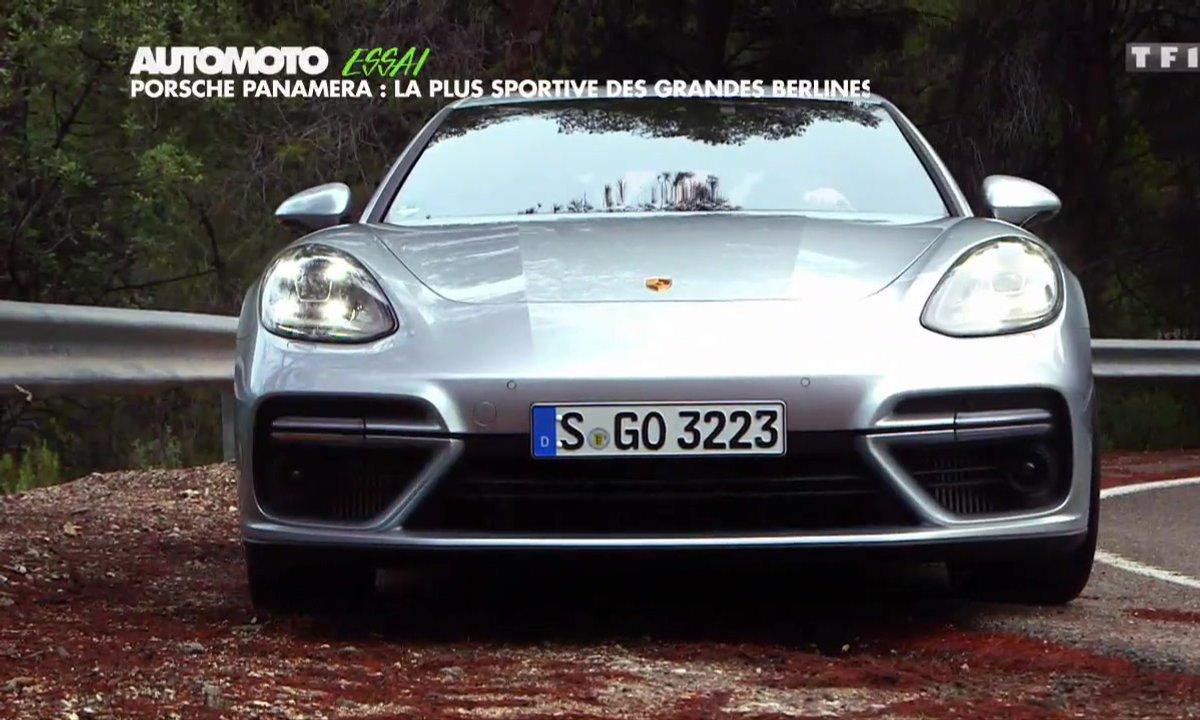 Essai Vidéo : la nouvelle Porsche Panamera Turbo 2017, la limousine sport ?