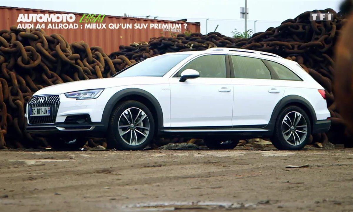 Essai : Audi A4 Allroad, mieux qu'un SUV premium ?