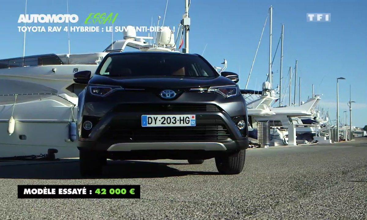 Essai Vidéo : Le Toyota RAV4 Hybrid 2016