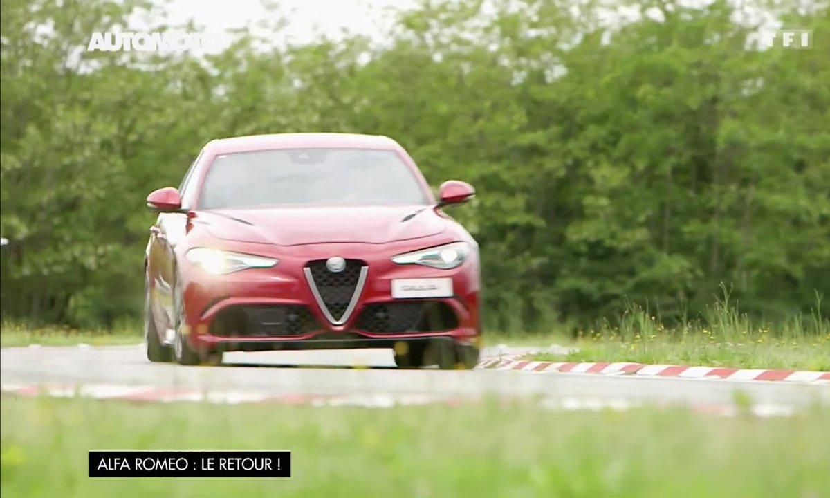 Essai Vidéo : Alfa Romeo Giulia Quadrifoglio 2016, sportive à la hauteur