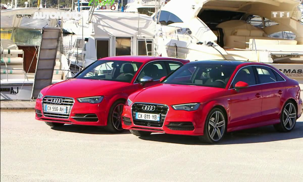 Essai Vidéo : les nouvelles Audi A3 Berline et S3 2013