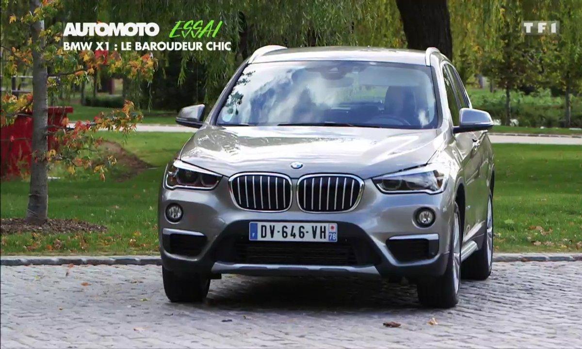 Essai Vidéo : le BMW X1 2015