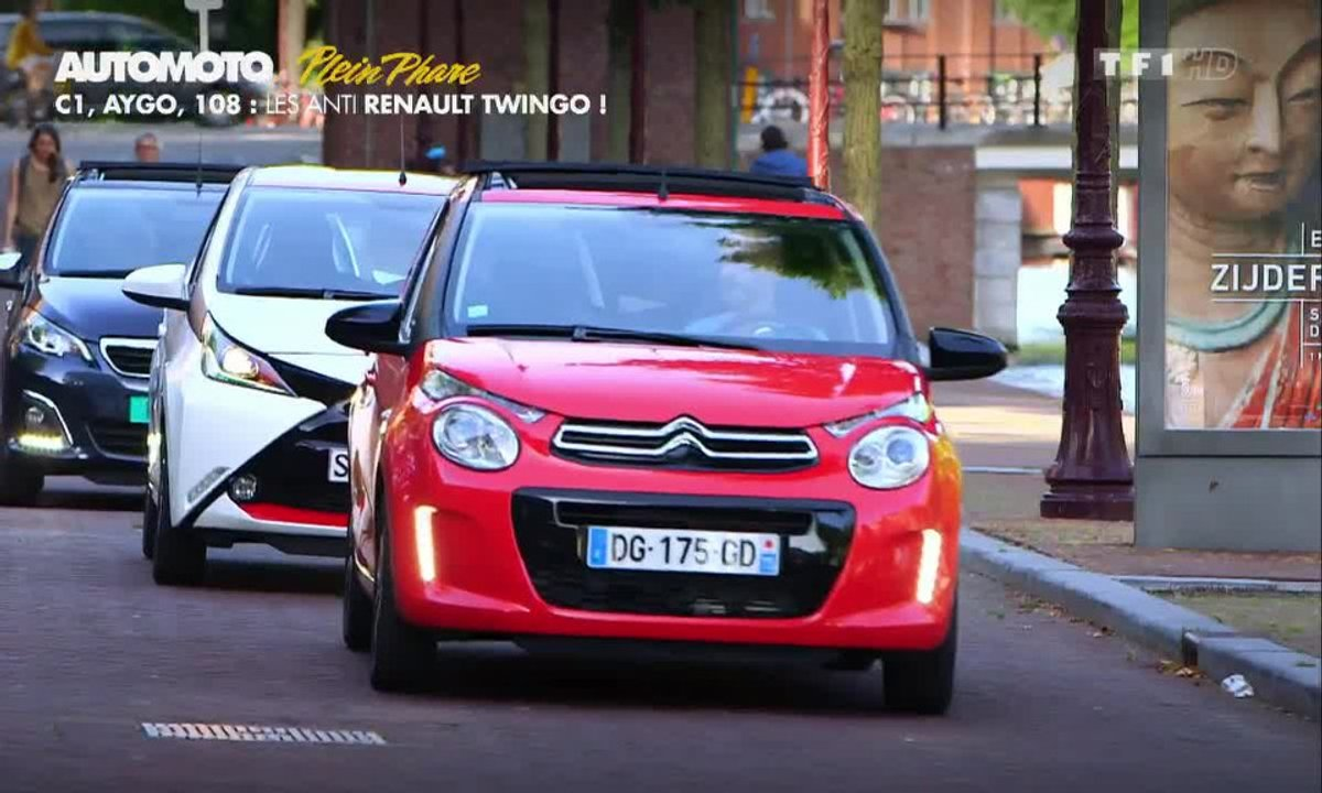 Plein Phare : Peugeot 108, Citroën C1, Toyota Aygo ou les Anti-Twingo