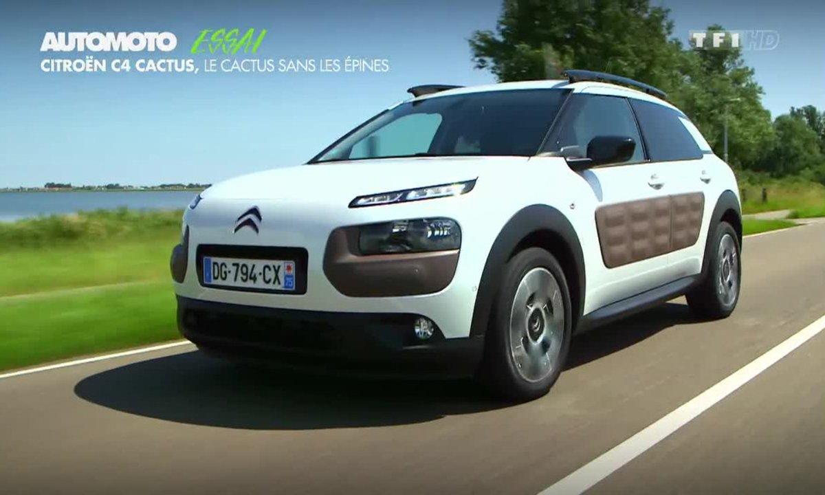 Essai Vidéo : Citroën C4 Cactus 2014, révolution ou coup marketing ?