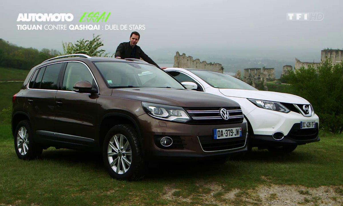 Essai Vidéo : le Nissan Qashqai 2014 face au VW Tiguan