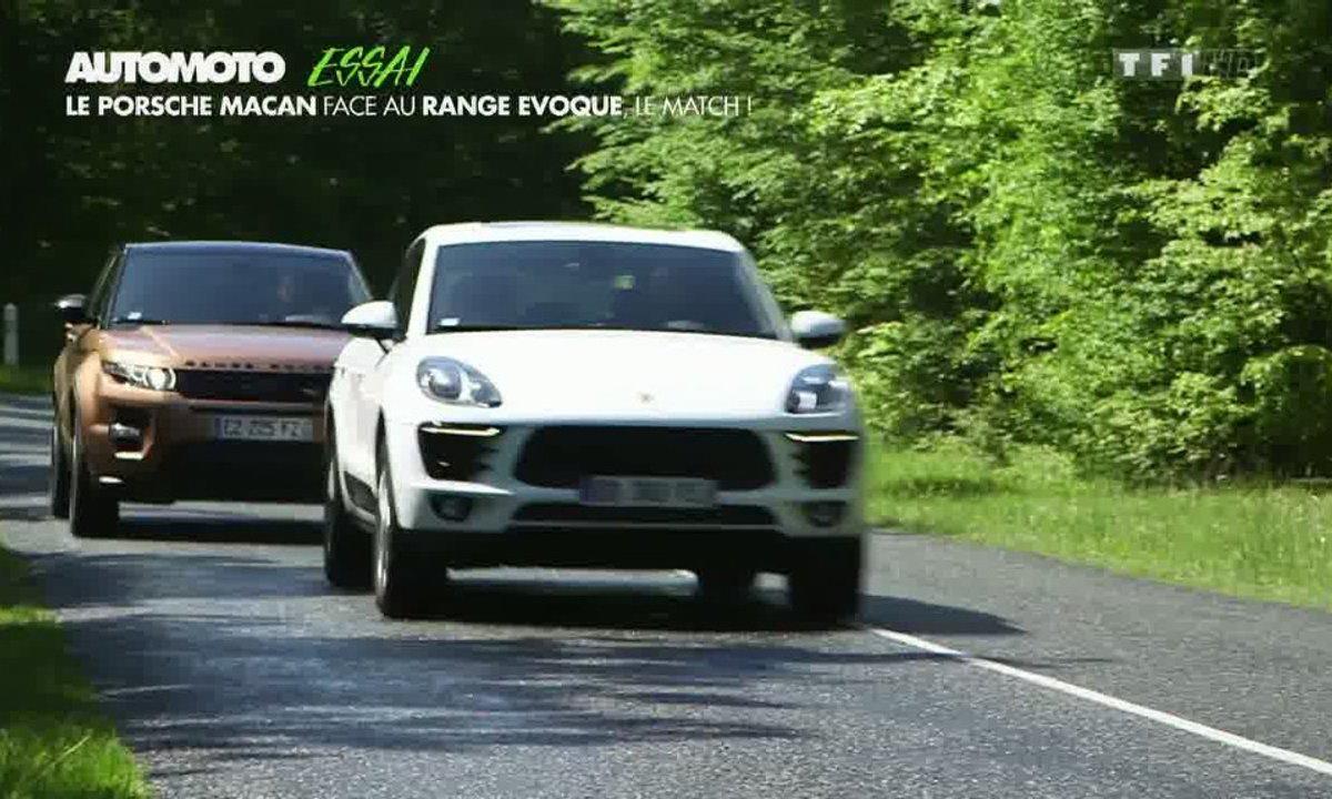 Essai Vidéo : Porsche Macan contre Range Rover Evoque