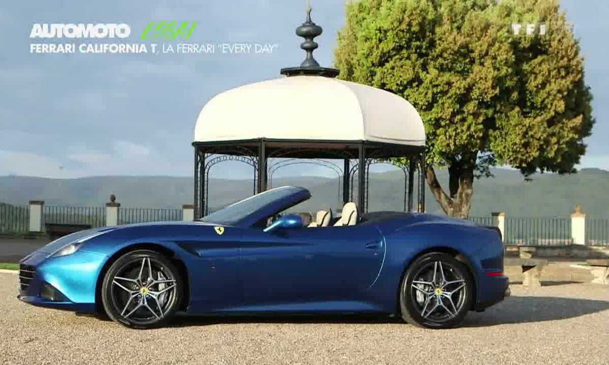 Essai Vidéo : la Ferrari California T 2014 met le turbo