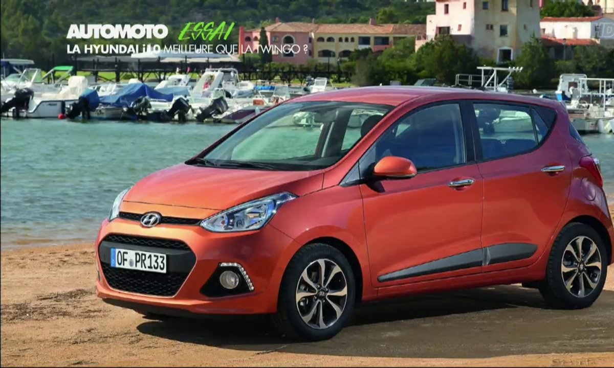 Essai vidéo : la nouvelle Hyundai i10 s'attaque à la Twingo