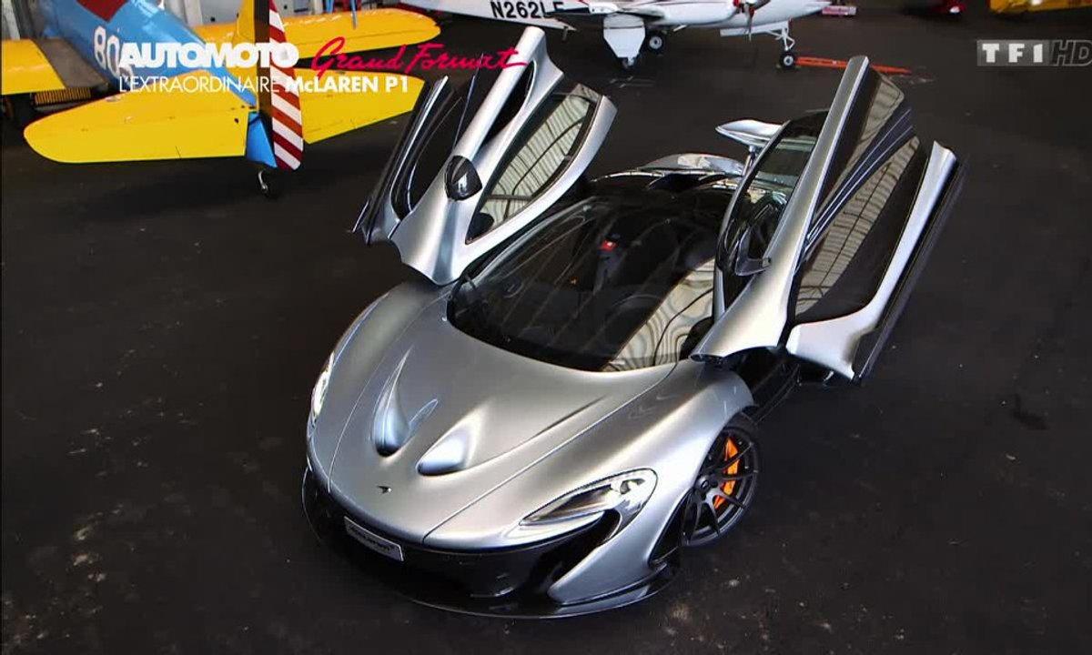 Grand Format : la McLaren P1, le monstre britannique aux 916 ch
