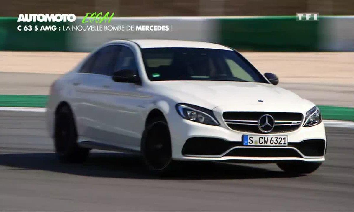 Essai Vidéo : C63 S, la nouvelle bombe de Mercedes-AMG