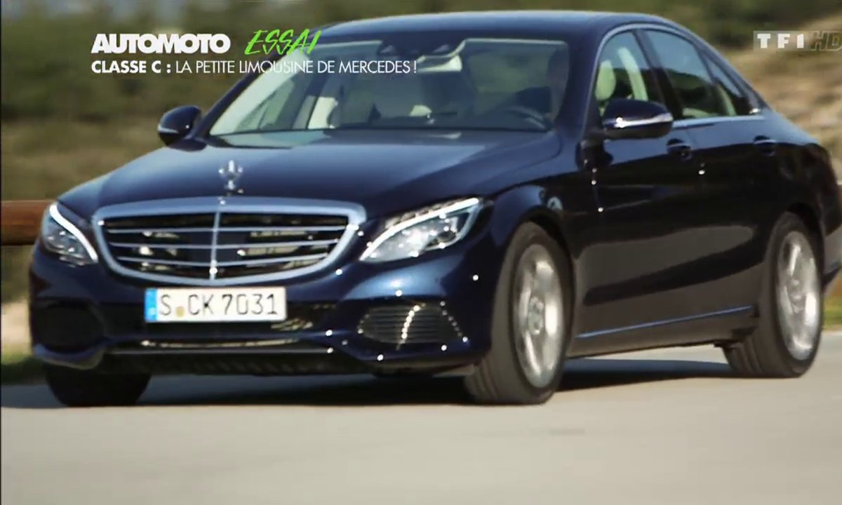 Essai Vidéo : la nouvelle Mercedes-Benz Classe C 2014