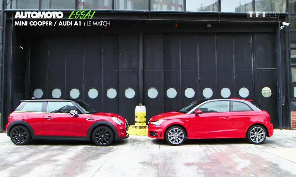 Essai Vidéo : La MINI contre l'Audi A1