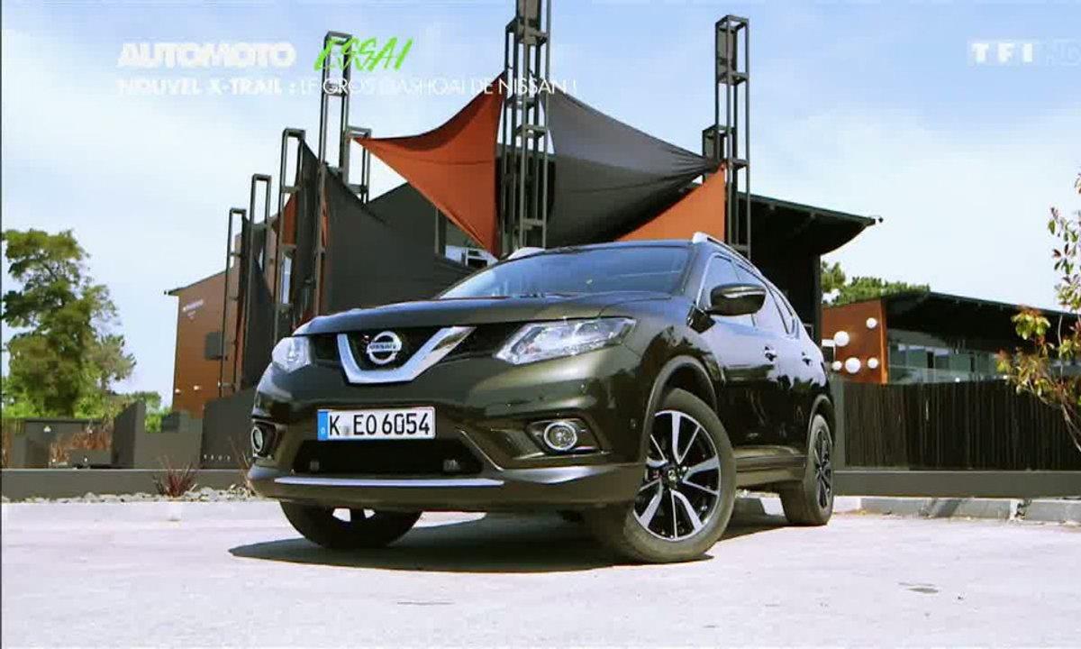 Essai Vidéo : le nouveau Nissan X-Trail 2014