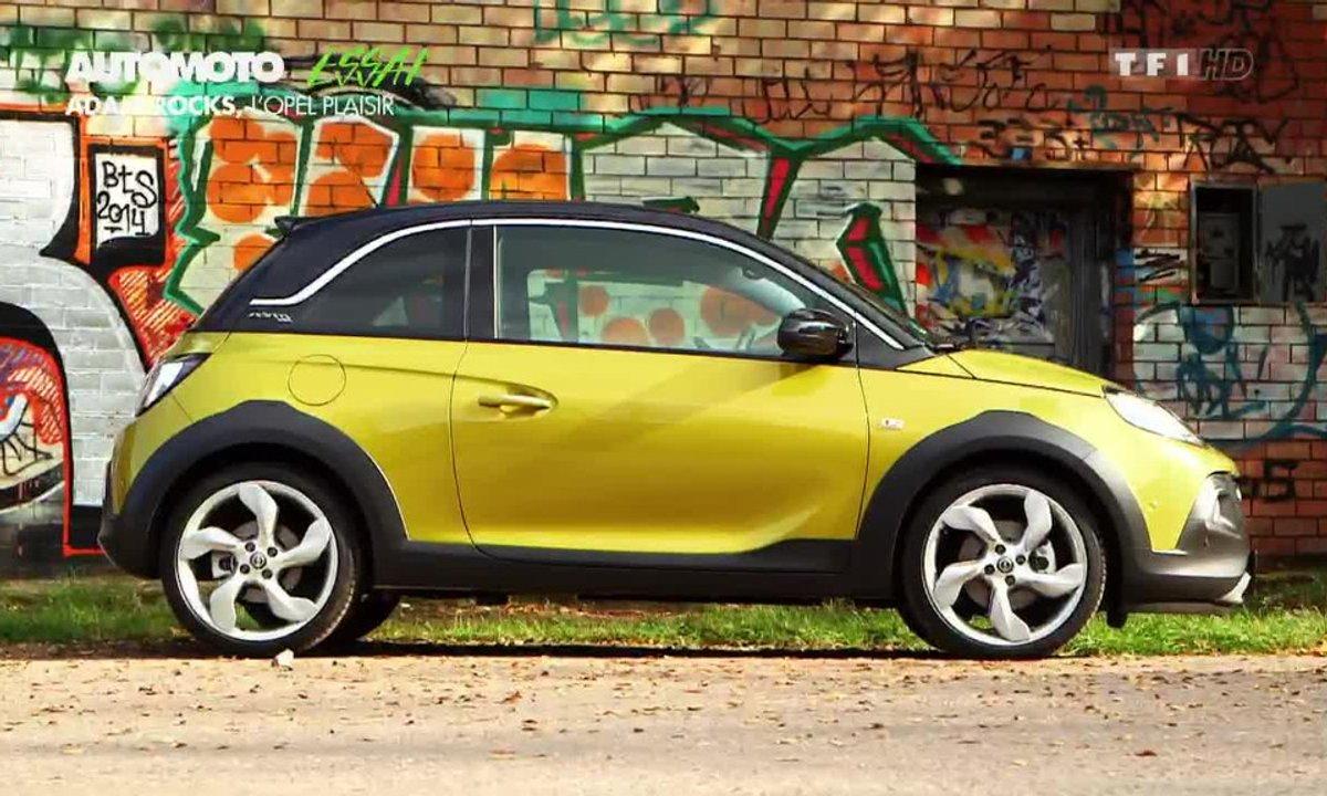 Essai Vidéo : l'Opel Adam Rocks, mini voiture, maxi plaisir ?