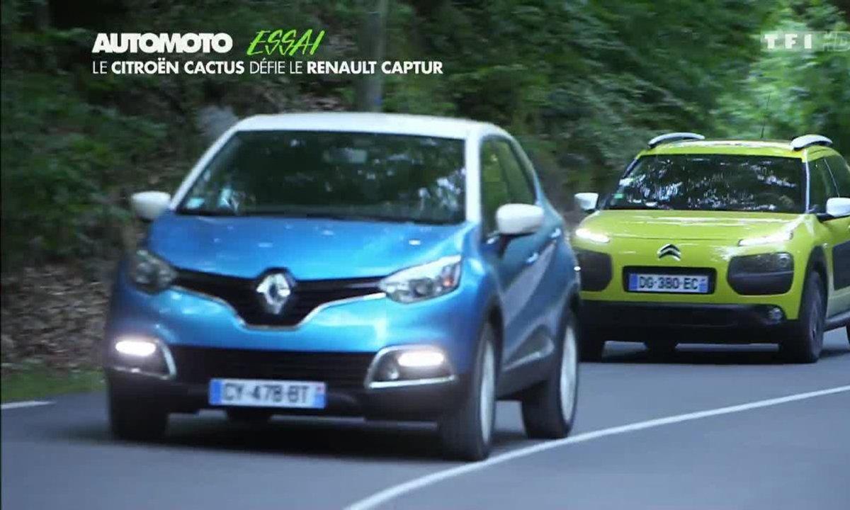 Essai Vidéo : le Citroën Cactus défie le Renault Captur !