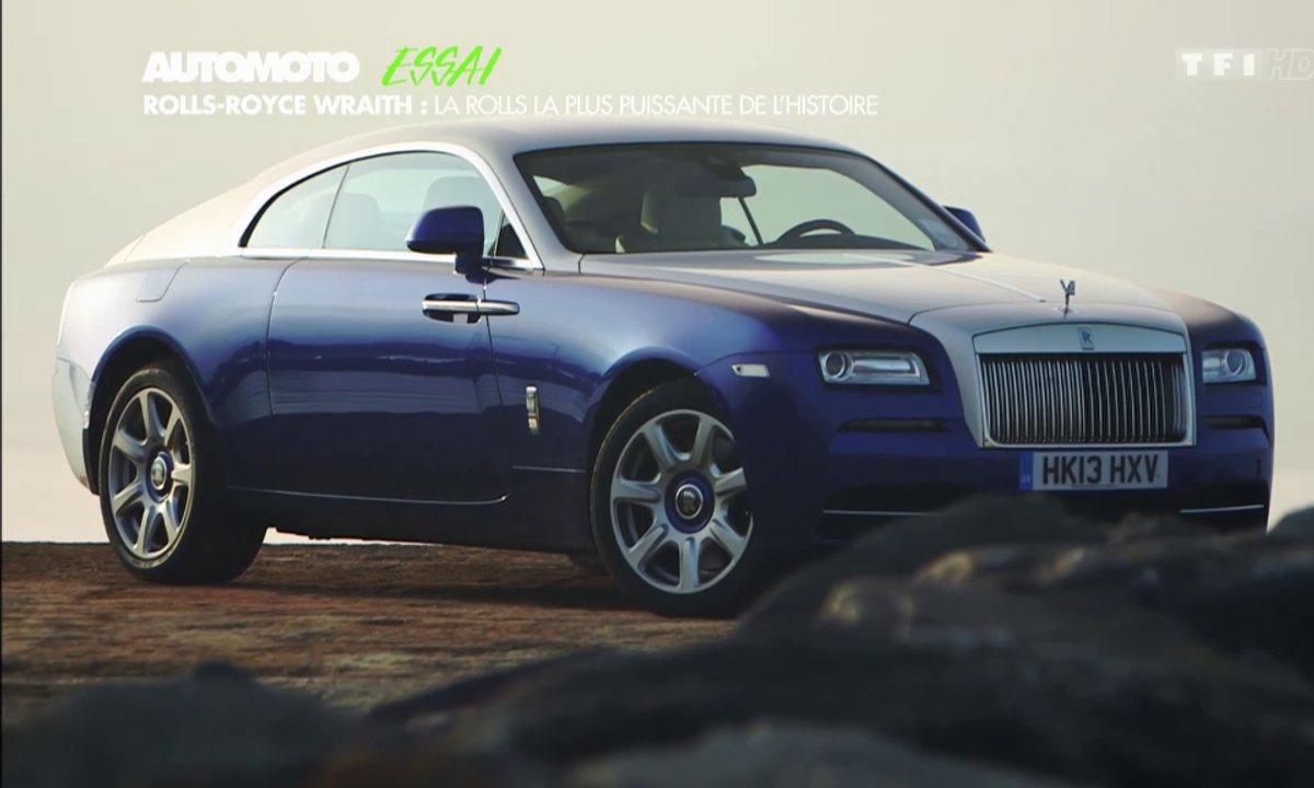 Essai vidéo : la nouvelle Rolls-Royce Wraith