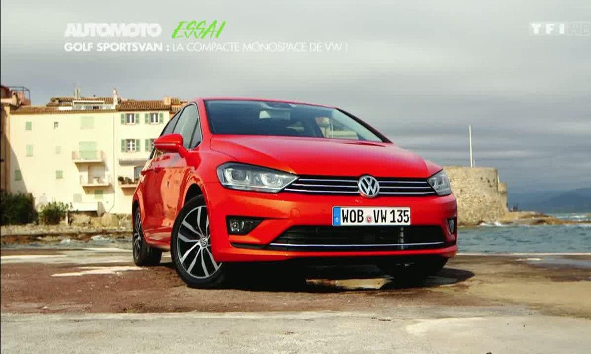 Essai Vidéo : Volkswagen Golf Sportsvan 2014, vrai Scénic à l'allemande ?