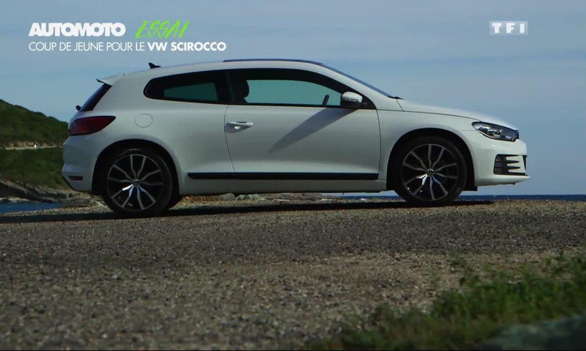 Essai Vidéo : le Volkswagen Scirocco restylé 2014