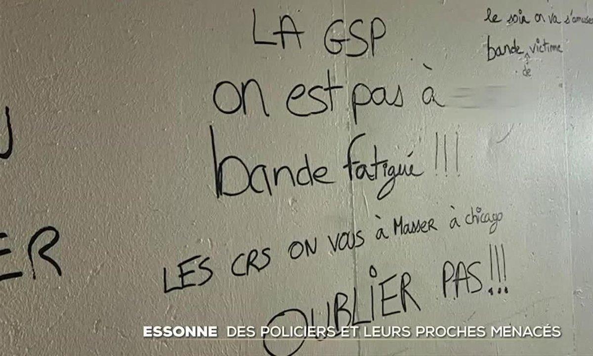 Essonne : des policiers et leurs proches visés par des tags