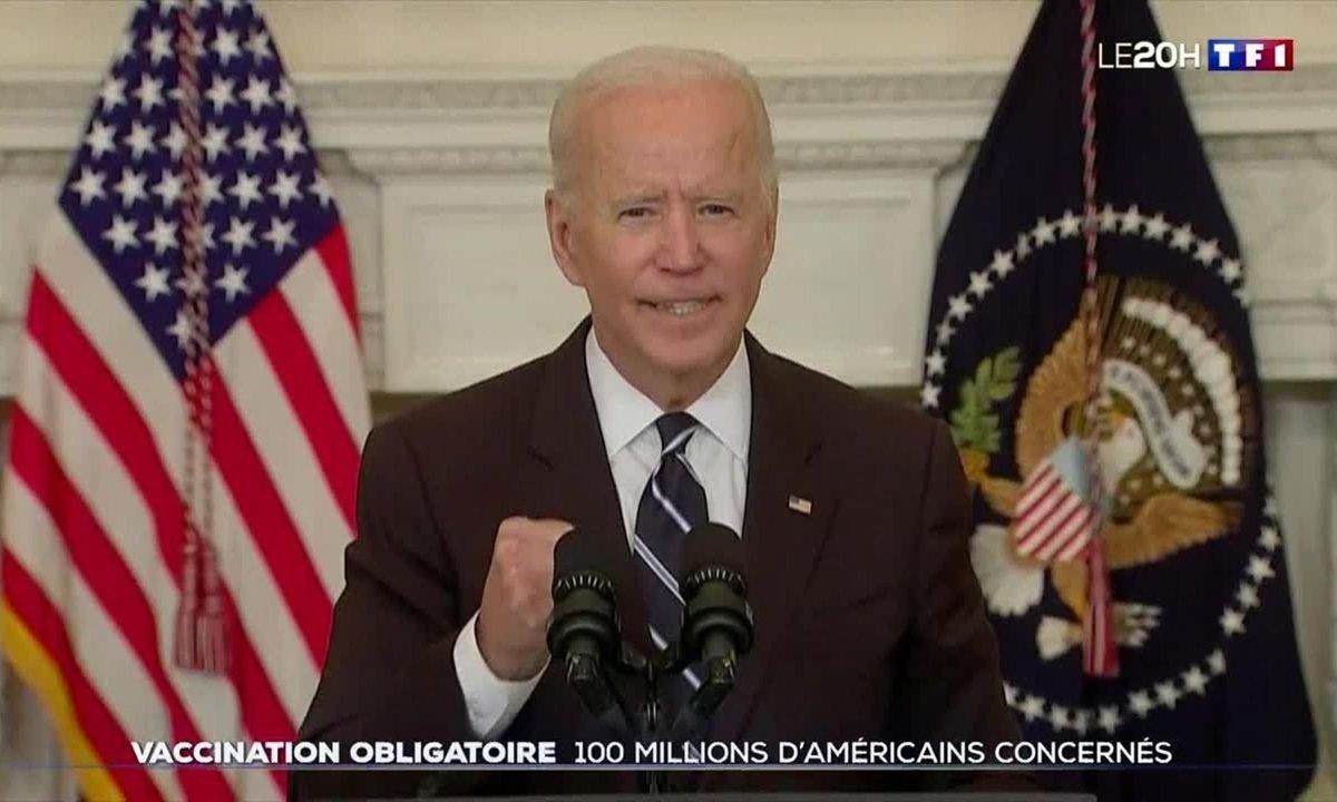 États-Unis : Joe Biden durcit le ton pour relancer la vaccination anti-Covid