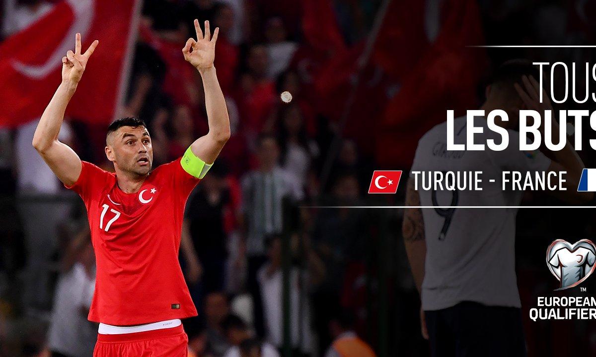Turquie - France : Voir tous les buts du match en vidéo