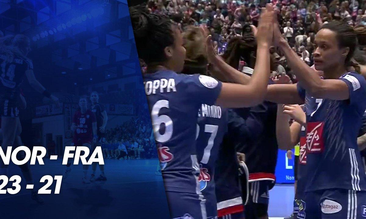Euro féminin de Handball 2018 - Match préparatoire Euro 2018 - Norvège / France du 25 novembre 2018