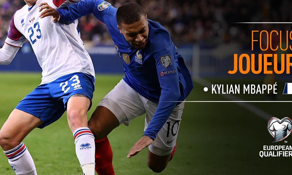 France - Islande : Voir le match de Mbappé en vidéo