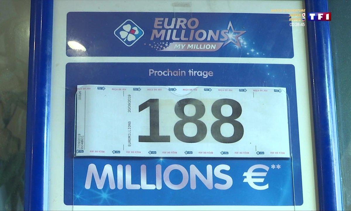 EuroMillions : 188 millions d'euros en jeu,  presque un record absolu