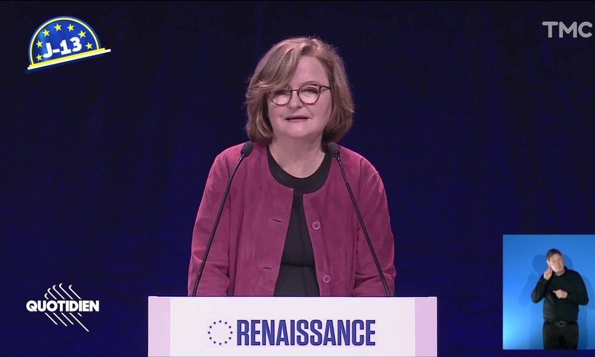 Européennes J-13 : pas de doute, Nathalie Loiseau sait mettre l'ambiance (non)