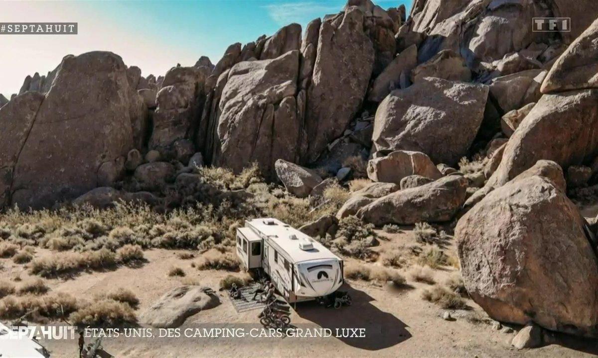 Évasion grand luxe dans des campings cars tout confort aux États-Unis