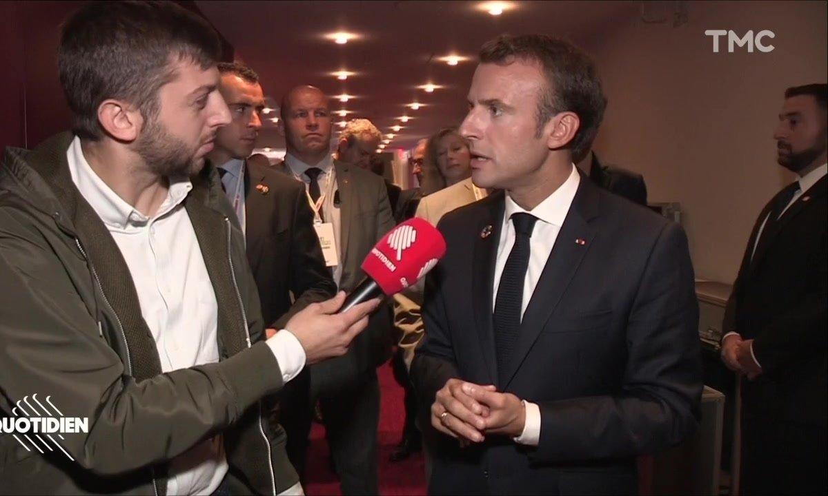 """[Exclu] Emmanuel Macron et les Gaulois réfractaires : """"C'était une erreur"""""""