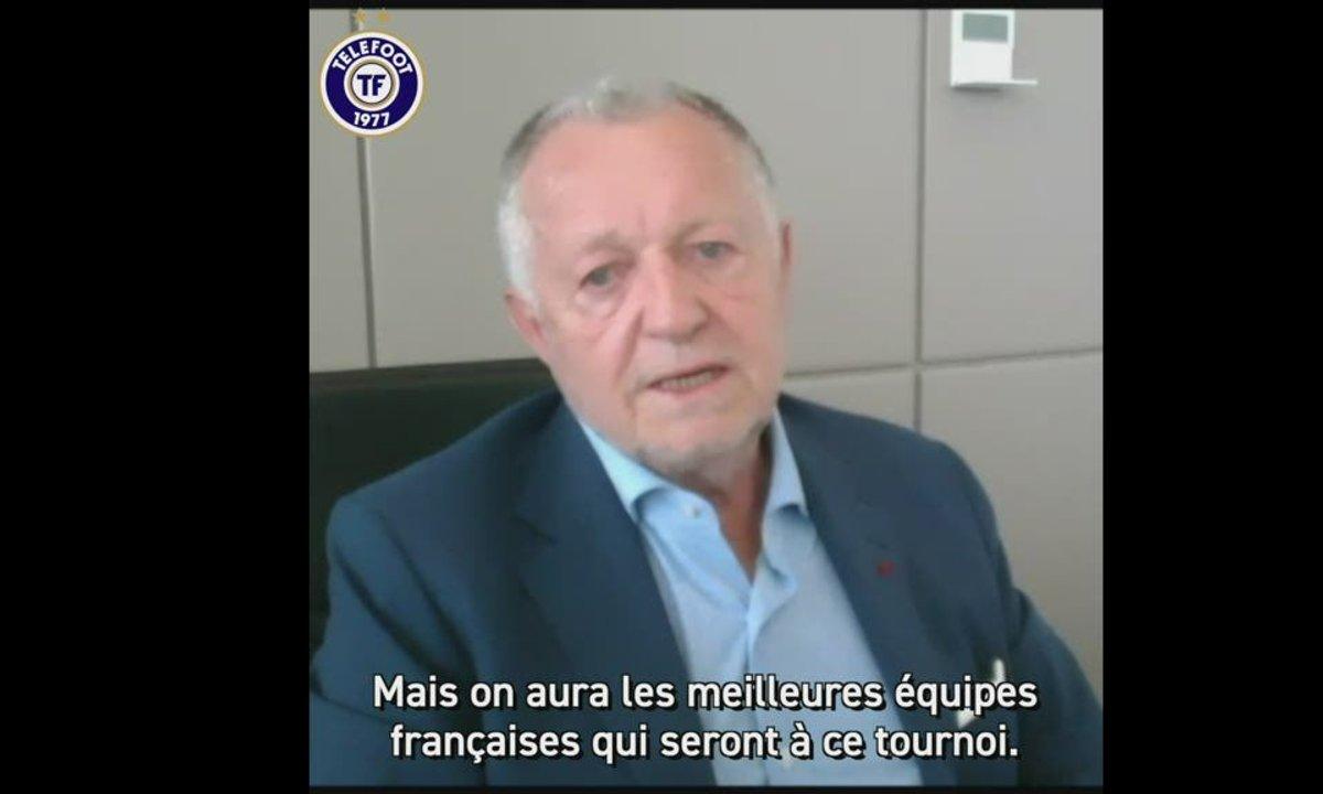 EXCLU - Jean-Michel Aulas dévoile les contours de son tournoi d'été