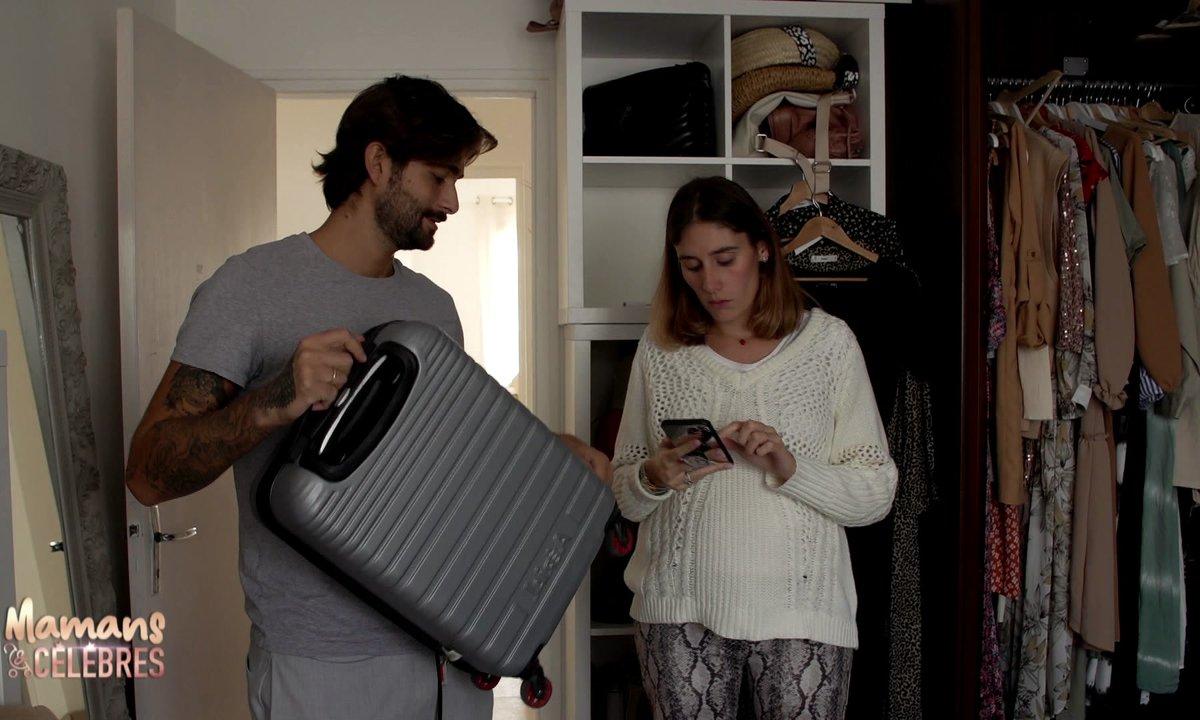 Jesta et Benoît préparent leurs valises pour la Corse