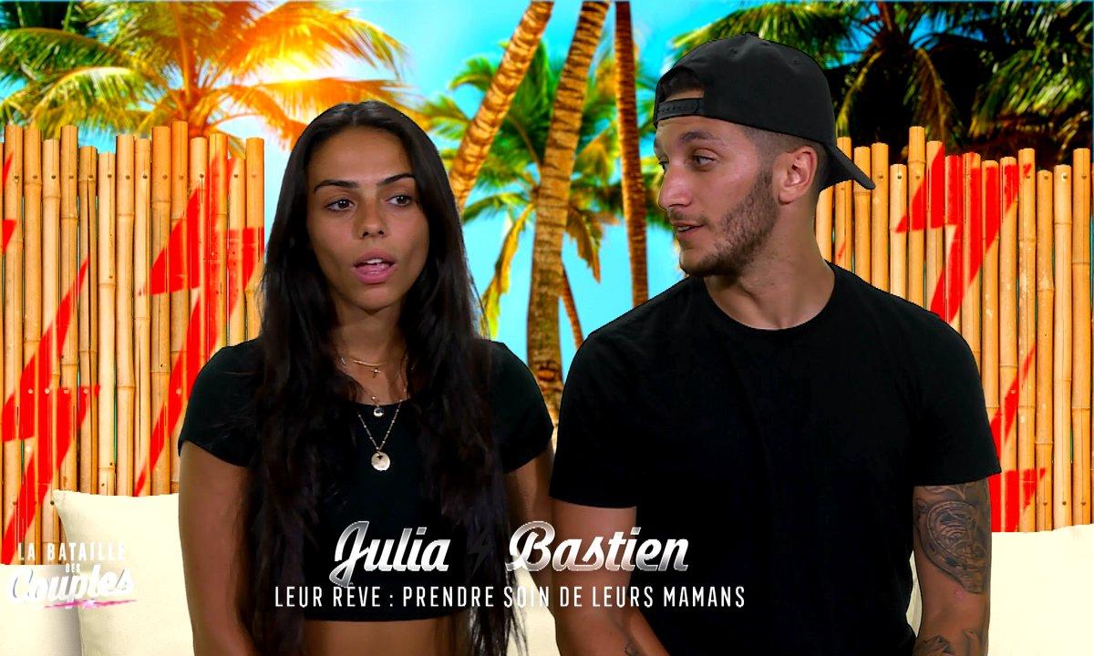EXCLU - Julia et Bastien réagissent après leur départ