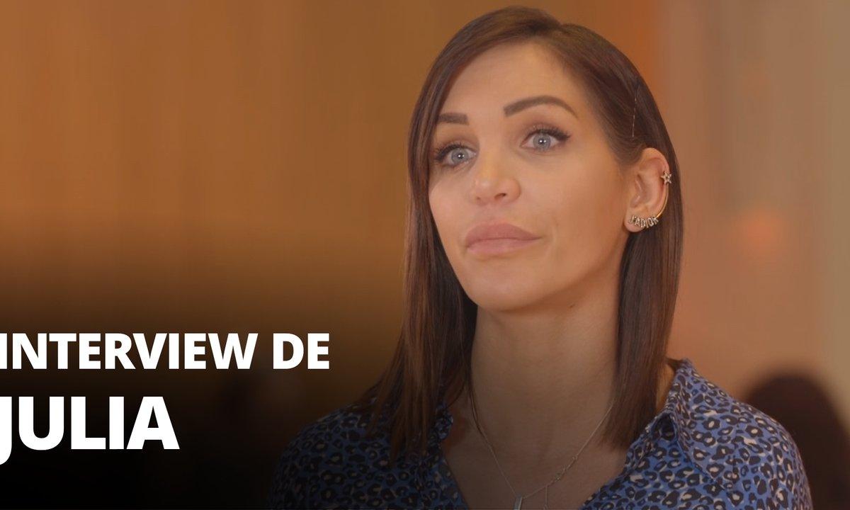 EXCLU - Julia : « J'ai appris ma fausse-couche pendant le tournage »