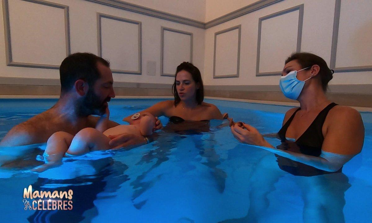 Baptême de l'eau pour Zélie !