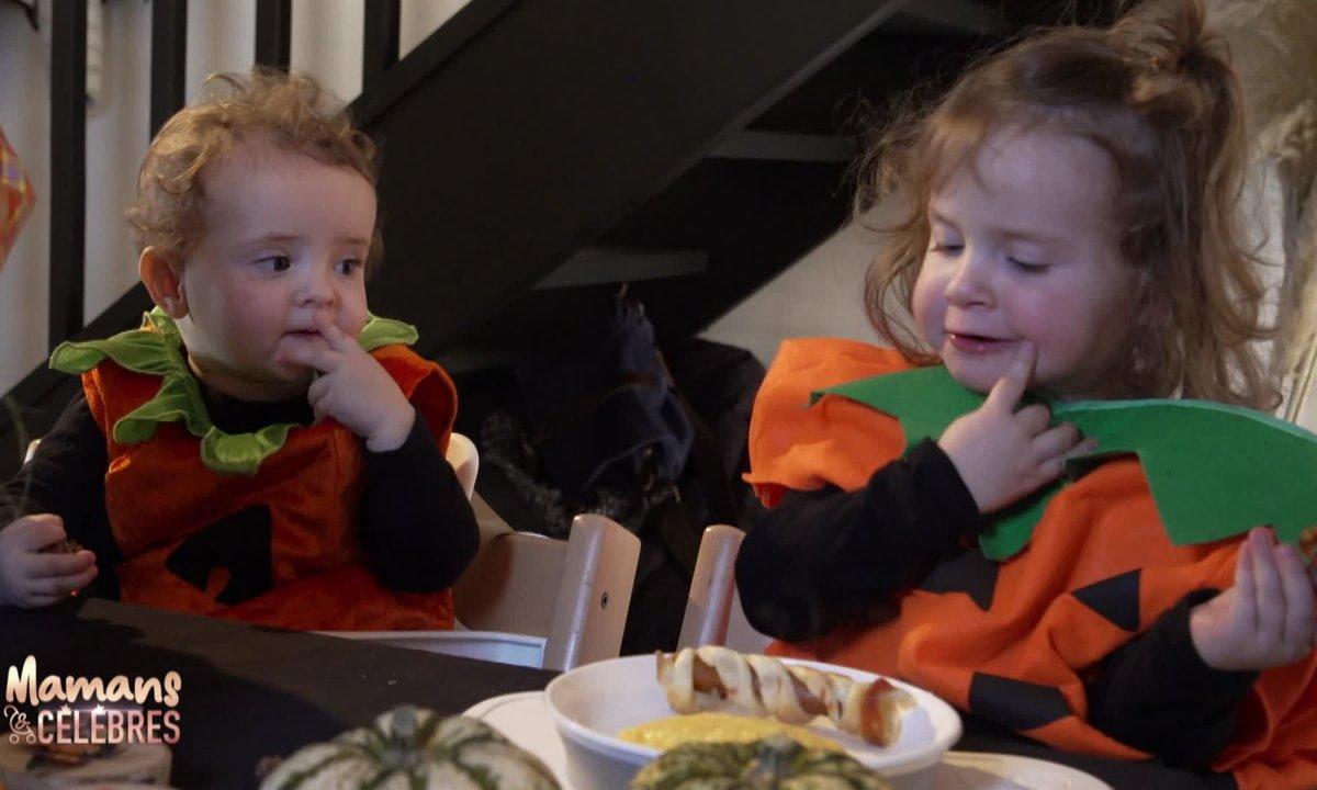 Romy et Zélie fêtent Halloween !