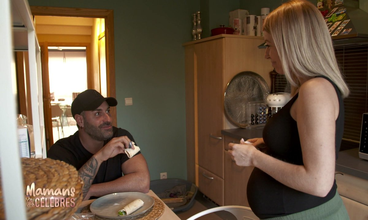 Stéphanie et Eric préparent l'arrivée de Charlize